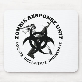 Zombie Gift Response Team Gifts Customize Mouse Mat