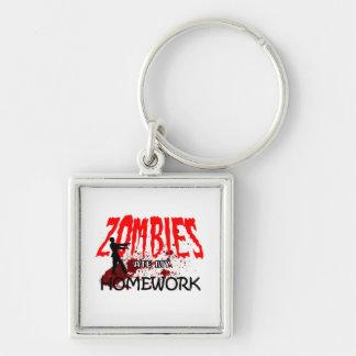 Zombie Gift Zombies Ate My Homework Key Ring