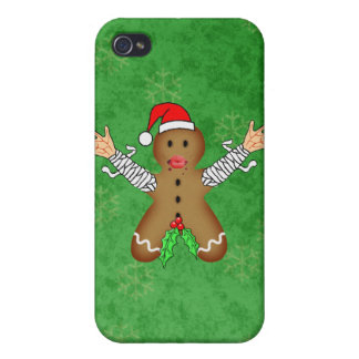 Zombie Gingerbread iPhone 4/4S Cover