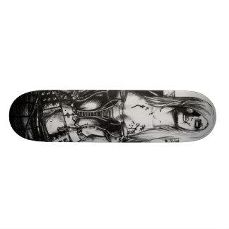 Zombie Girl 20.6 Cm Skateboard Deck