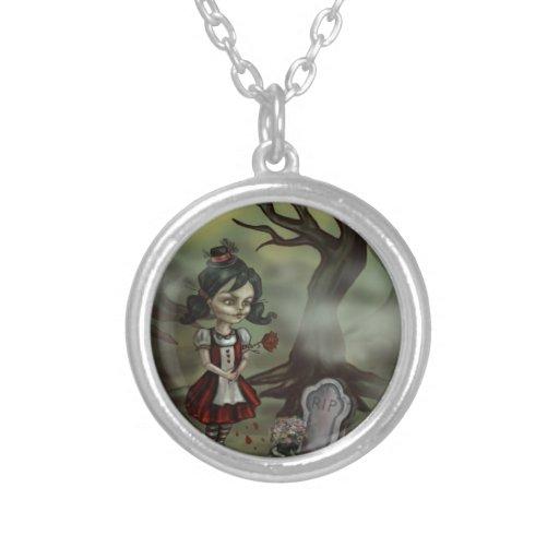 Zombie Girl Finds True Love in a Graveyard Custom Jewelry