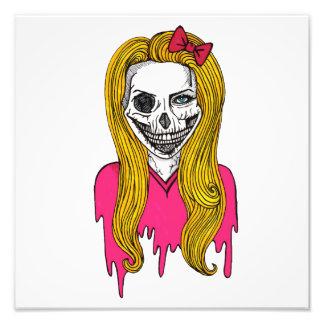 Zombie Girl Photo