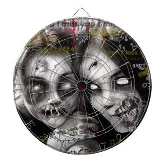 zombie girls dartboard
