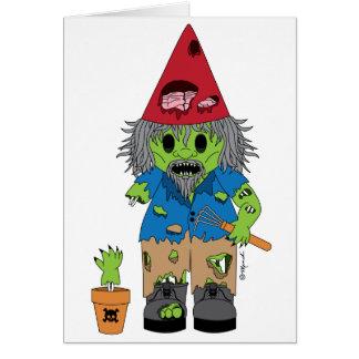 Zombie Gnome Card