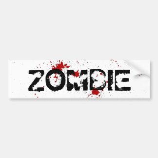 Zombie Gore Bumper Sticker