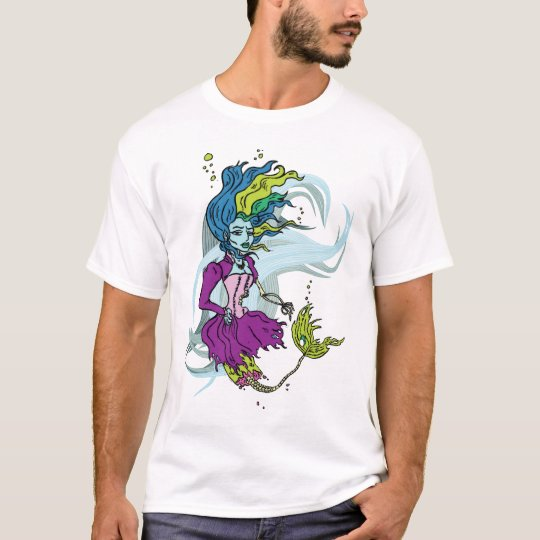 Zombie Goth Mermaid t-shirt