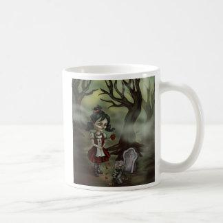 Zombie Graveyard Girl Coffee Mug