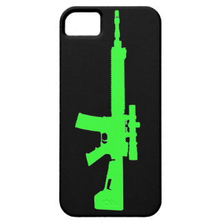 Zombie Green AR-15 iPhone 5 Universal Case iPhone 5 Case