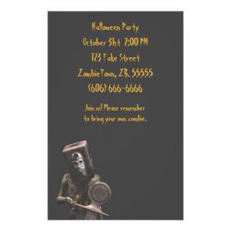 Zombie Guard - Halloween Flyer