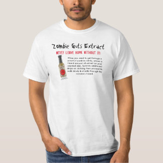 Zombie Guts Extract Satire T-Shirt