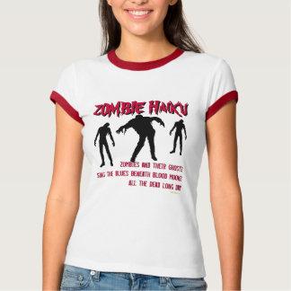 Zombie Haiku Ringer T-Shirt