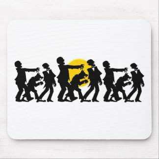 Zombie Halloween Mouse Pad