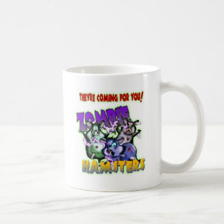 ZOMBIE HAMSTERS! COFFEE MUG