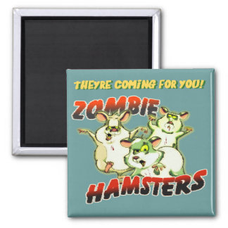 ZOMBIE HAMSTERS MAGNET