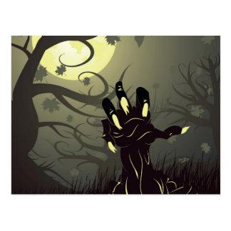Zombie Hand 3 Postcard