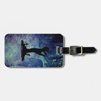 Zombie Hand black Luggage Tag