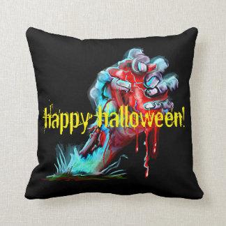 Zombie Hand Bleeding Heart Pillow Cushion