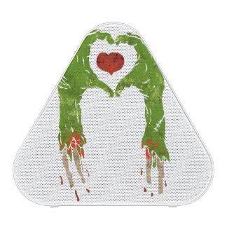 zombie hand making heart