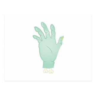 Zombie Hand Postcard