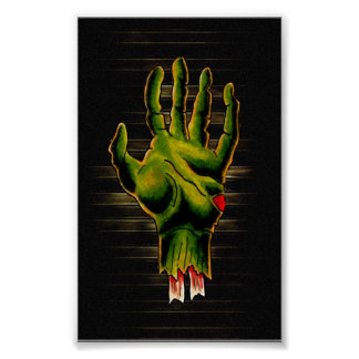 Zombie Hand Posters