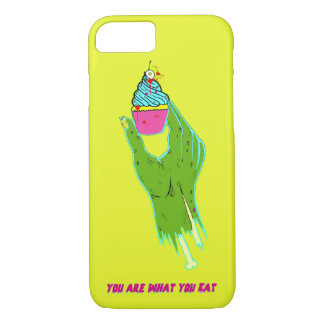 Zombie Hand - You Are What You Eat iPhone 8/7 Case
