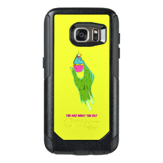 Zombie Hand - You Are What You Eat OtterBox Samsung Galaxy S7 Case