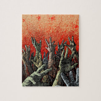 Zombie Hands Puzzle