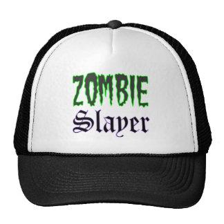 Zombie Hat Zombie Slayer logo Trucker Hat