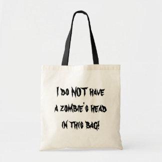 Zombie HEAD Bag