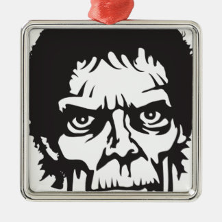 Zombie Head Logo Christmas Ornament