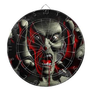 Zombie Head-Shot Dart Board