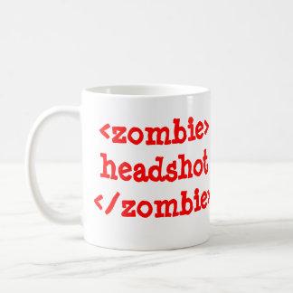 <zombie>headshot</zombie> Coffee mug