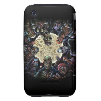 Zombie horde attack iPhone 3 tough covers
