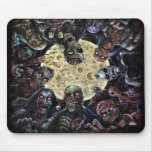 Zombie horde attack mouse mats