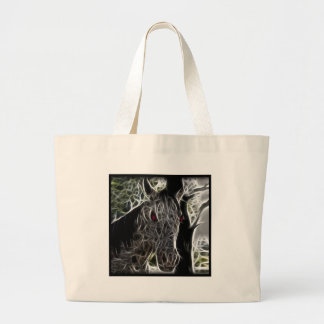 Zombie Horse Tote Bag