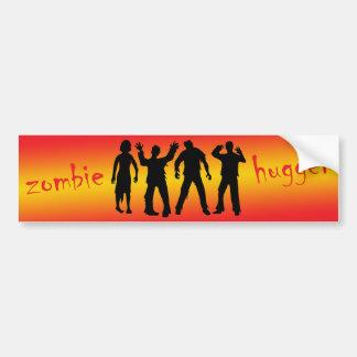 Zombie Hugger Car Bumper Sticker