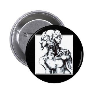 Zombie Hunger 6 Cm Round Badge