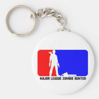 zombie hunter 2 basic round button key ring