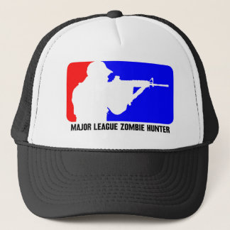 zombie hunter 3 trucker hat