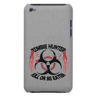 Zombie Hunter Barely There iPod Cases