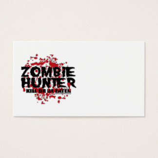 Zombie Hunter Business Card
