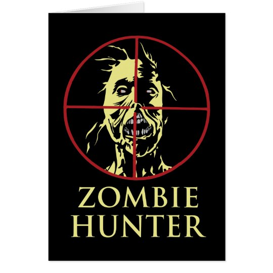 Zombie Hunter Card