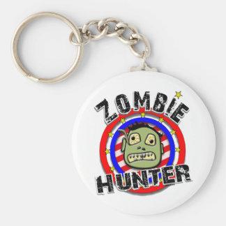 Zombie Hunter Humor Key Chains