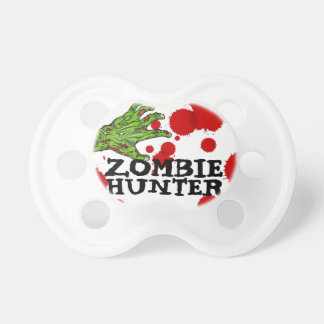 """Zombie Hunter"" Humorous Baby Pacifier"