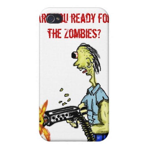 Zombie Hunter Case For iPhone 4
