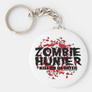 Zombie Hunter Key Chains