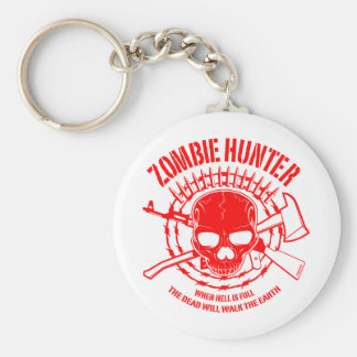 Zombie Hunter Keychain