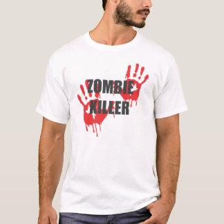 zombie hunter killer bloody hands design T-Shirt