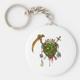 Zombie Hunter Logo Key Chain