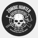 Zombie Hunter Sticker